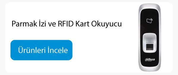 Parmak İzi ve RFID Kart Okuyucu